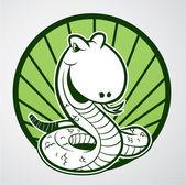 Vector illustration of snake