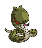 Snake cartoon Illustration