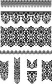 Seamless Vector Lace Border