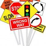 Постер, плакат: Road signs
