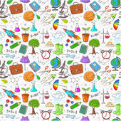 Back to school - seamless background Can be used for wallpaper pattern fills textile web page background surface textures illustration