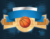 A vector illustration of a basketball tournament concept Vector EPS 10 file available EPS file contains transparencies and is layered