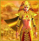 Egyptský bojovník královna