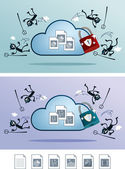 Soubor v cloud skladování chráněn před počítačovými viry