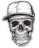 Sketchy Skull with Cap and Bandana Sketchy Skull with Cap and Bandana