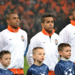 ������, ������: The match of the Champions League Fernandinho Teixeira Eduardo before the match