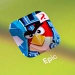 Постер, плакат: Angry Birds Epic On Apple iPad Air