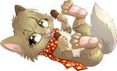 Il cagnolino che detiene in pastiglie due congelato e sorrisi