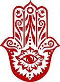 Amulet ochrany Hamsa - ruka Fatimy-