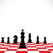 šachové herní koncept