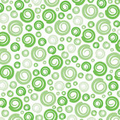 Abstract green swirl pattern