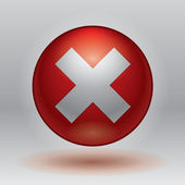 X close vector icon close button
