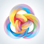 Abstract Infinite Loop Sign Template Corporate Icon EPS10