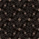 Coffee pattern vector