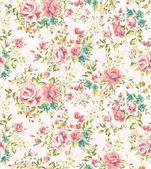 Klasické tapety bezešvé vintage květinový vzor vektorové pozadí