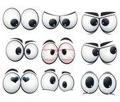 Rajzfilm kifejezés szem különböző nézeteket