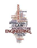 Profil absolventa a postgraduální textu grafiku a uspořádání koncepce