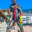 Постер, плакат: Bronze statue of Freddie Mercury