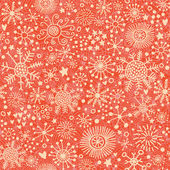 Bright seamless pattern made of snowflakes in vector Seamless pattern can be used for wallpapers pattern fills web page backgroundssurface textures Gorgeous winter pattern