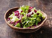Frischer Salat Blätter mix