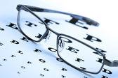 Brýle a eyechart