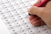 Zákaznický servis průzkum spokojenosti nebo zkoušku více voleb