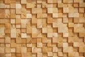 Dřevo bloku zdi