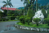 Hualien City, Hualien County, Taiwan Long-marble processing factory landscape sculpture Mother