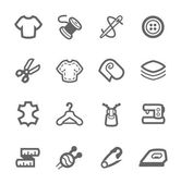 Schneiderei Symbole
