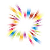 Rainbow burst design