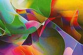 Lebendige abstrakt. eine Orgie der Farben