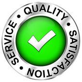 Label Qualitysatisfactionservice