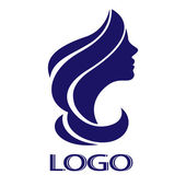 Vector girl for logo