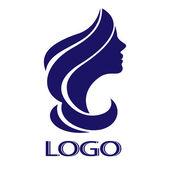 A logó vektoros lány