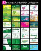 Mega collection of 32 abstract business cards