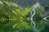 Lake in the Tatra Mountains