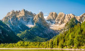 Escursioni nelle montagne delle Dolomiti