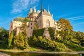 Bojnice hrad s vodním příkopem