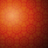 Chinese pattern background Vector illustration for your fashion design Stylish elements for web design Endless eastern red and yellow ornamental