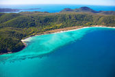 Aerial Whitsunday Island Great Barrier Reef