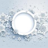 Abstraktní zimní design