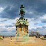 Постер, плакат: Statue of Prince Eugene of Savoy Budapest