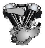 Klasický motor V-twin motocyklů