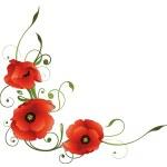 Постер, плакат: Poppies flowers decoration