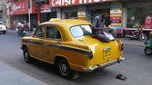 Taxi. Kolkata. Indien