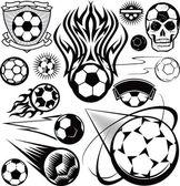 Fotbalový míč kolekce