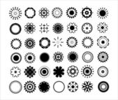 42 decorative element set