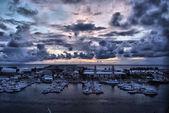 Night in Port Dock Yard, Bermuda