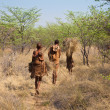 Постер, плакат: Family of Botswana Bushmen