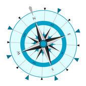 Compass wind rose Vector illustration